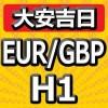 【大安吉日シリーズ】EUR/GBP H1 大手ヘッジファンドと同じ考え方で運用するEA